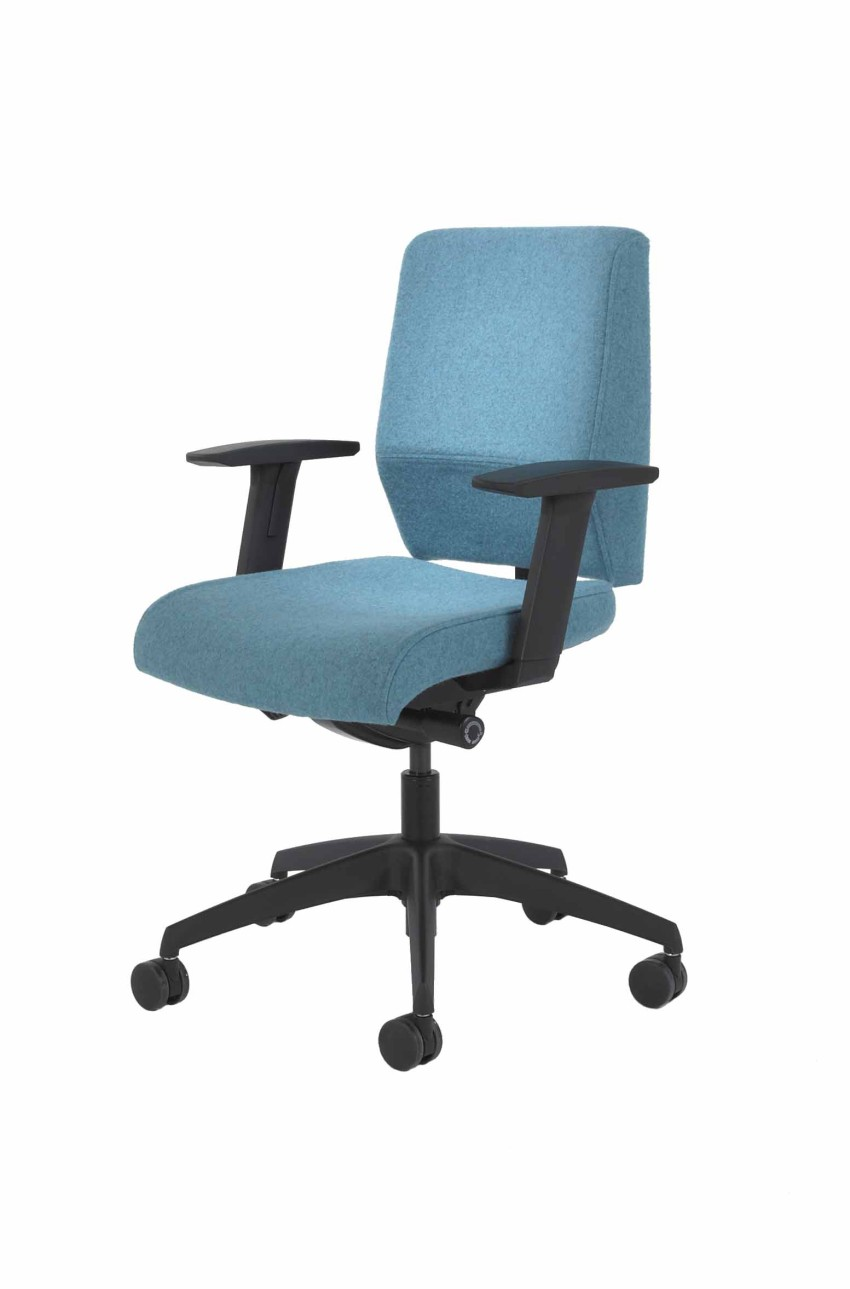 Teal office chair - Task Chairs