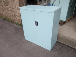 Storage Used Silverline 1/2 metal cupboard