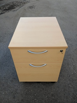 Storage 2 Drawer Mobile Pedestal