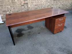 Desking 1800 Crown Cut Mahogany mfc