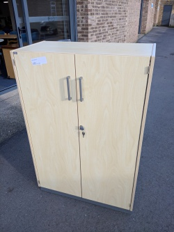 Storage Used Double Door Cupboard